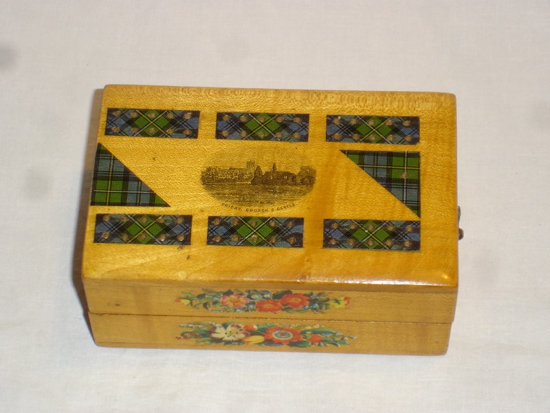 Mauchline Ware Folding Board