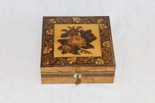 Fine Tunbridge ware Handkerchief box - FTH325