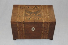 Tunbridge Ware Tea Caddy - TTC300
