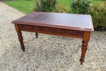 Late Georgian Mahogany Desk