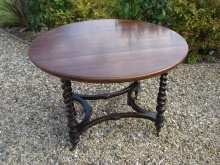 Howard & Sons Walnut Table - HSW1000