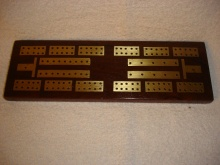 Pakistani Solid Rosewood Cribbage 'Hayat' Makers - PSRC100