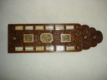 Cantonese Deeply Carved Flat Sandalwood Crib Board - CDC150