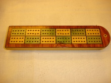 Victorian Cribbage Board - VCB100