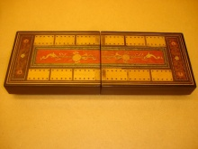 Sorrento large folding cribbage board - SLF150