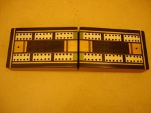 1920's Folding Cribbage Box - FCB75