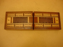 Vintage Folding Cribbage Box - VFC55