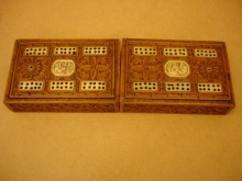 Cantonese Sandalwood Folding Box  - CSF180