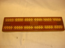 'From A Daily Sketch Reader' Cribbage Board - FDS40