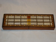 Triple Lane Traveling Cribbage Box - TLT115