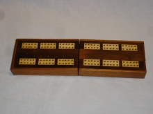 Edwardian Folding Cribbage Board - EFC90