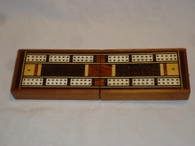 Folding Travel Cribbage Board - FTCB100