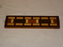 Late Edwardian Cribbage Board - LEC45