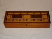 Edwardian Inlaid Cribbage Box  - BIC95