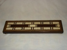 Large Victorian Rosewood Cribbage Board - LVC150