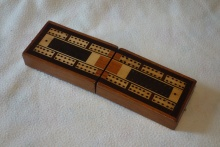 Edwardian Folding Cribbage Board - ECB95