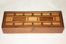 Late Victorian Cribbage Box - LVCB118