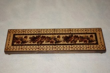 Edwardian Tunbridgeware Cribbage Board 1 - E1TC95