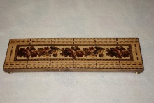 Edwardian Tunbridgeware Cribbage Board 2 - E2TC95