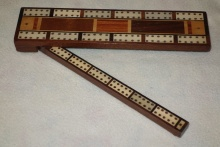 Victorian Triple Lane Cribbage Board - VTL95