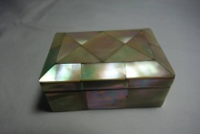Mother Of Pearl Patch Box
