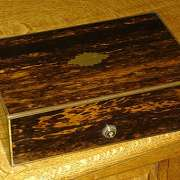 Coromandel Writing Box Stamped JT Needs C.1870 - CC35