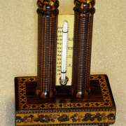 Tunbridge Ware Thermometer (H. Hollamby) C. 1850 - TTH01